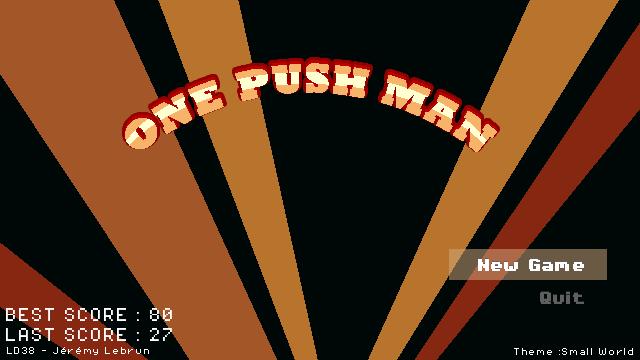 [LD38] One Push Man LD38_01